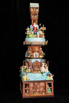 The Renshaw Christmas Cake Hall of Fame Favourites: Best Skill Holiday Cakes, Christmas Desserts, Christmas Baking, Christmas Cookies, Santa Christmas, Fancy Cakes, Cute Cakes, Pink Cakes, Gorgeous Cakes