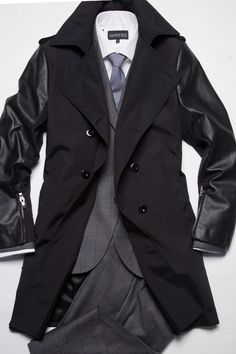 Style Tips | Style at Every Age: Transitional Outerwear - 40's - Tiger Of Sweden Rembrant Trenchcoat: $1,099 | GOTSTYLE.CA