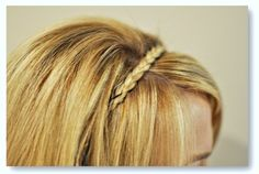 Braided Headband Tutorial by Curls N Pearls  Twisted Sister Hair Style at The Beauty Department  How to Style Long Hair Short at A Beautiful Mess  Give It To Me Straight Hairstyle at Pink Pistachio