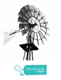 Black and White Windmill Rustic Farmhouse Fine Art Photography Print from Erin Johnson Photography http://www.amazon.com/dp/B016HEQ538/ref=hnd_sw_r_pi_awdo_4GTfxb04BD8EC #handmadeatamazon