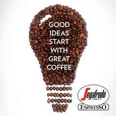 Хорошие идеи начинаются с отличного кофе!  #Segafredo #Kiev
