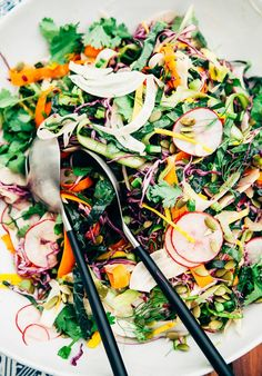 This Colorful Citrus-Miso Slaw Has Some Major Veggie Power  Delicious Links