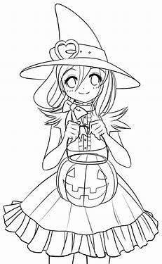 Image Result For Chibi Disney Villains Coloring Pages Witch Coloring Pages Halloween Coloring Pages Halloween Coloring Pages Printable