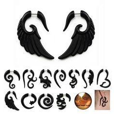==> consumer reviewsAcrylic Black Fake Spiral Ear Taper Gauges Twist Expanders Earring White Cheater Piercing Body JewelryAcrylic Black Fake Spiral Ear Taper Gauges Twist Expanders Earring White Cheater Piercing Body Jewelryyou are on right place. Here we have best seller store that sale...Cleck Hot Deals >>> http://id092134856.cloudns.hopto.me/32680929018.html.html images