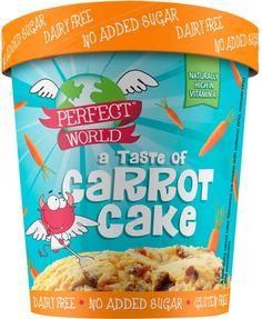 Perfect World Taste of Carrot Cake Ice Cream Dessert - No Added Sugar (500ml) | Compare Prices, Buy Online | mySupermarket