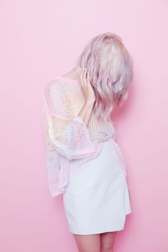 sheer pink with white is too good | ban.do