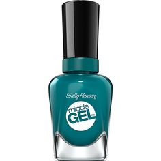 Sally Hansen Miracle Gel Fish-teal Braid ❤ liked on Polyvore featuring beauty products