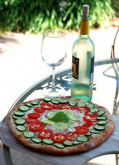 Vegi Pizza looks so good