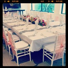 Don't want your reception on the beach? Check our beautiful Salon with ocean views!