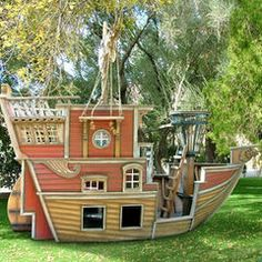 eclectic outdoor playsets by PoshTots