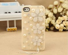 Fashion case iPhone 5 case iPhone cover  Pearls by dnnayding, $17.99