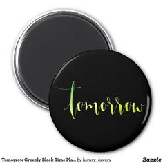 Tomorrow Greenly Black Time Planner Home Office