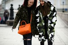 Dree Hemingway Mixes It Up With the Street-Style Crowd at Fashion Week Russia
