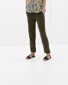 ZARA - NEW THIS WEEK - TROUSERS WITH POCKETS