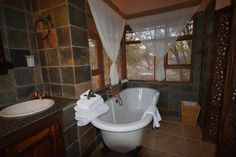 A bath with a view- Welgevonden Game Reserve House Property, Property For Sale, Game Reserve, Interior Decorating, Interiors, Bath, Home, Bathing, Ad Home