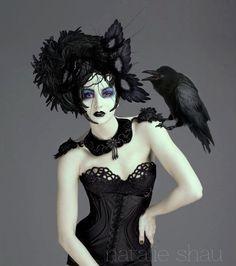 GOTH dark glamour ✤ :: Gothic Beauty, Model Viktorija - Natalie Shau