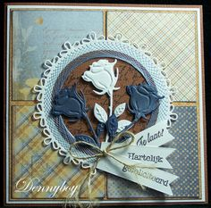 Marianne Design Cards, Easel Cards, Flower Cards, Cardmaking, Stampin Up, Birthday Cards, Scrapbooking, Stitch, How To Make