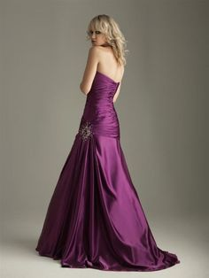 This is def going to be the color of my bridesmaid dresses....my colors will be this royal purple...ivory...and bling!!!!