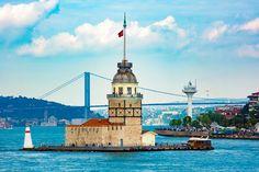 Maiden Tower by Yaşar koç