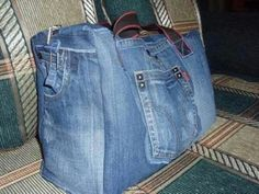 Sac en jean... Idée... ...