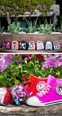 KEYCHAIN MINI BACKPACK COLLECTION by Nicole Lee #nicolelee #minibags