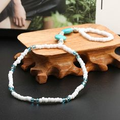 #Bohoanklets featuring hippie inspired shell, #beaded and #cottonanklets. Buy it now online.