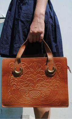 beautiful brown bag