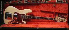 '68 Fender Jazz Bass - Olympic White