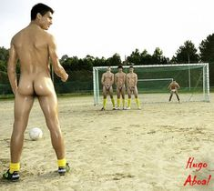 Desnudos futbolistas El Top