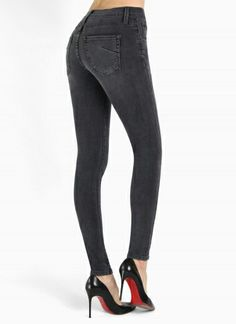 The ultimate celebrity favorite: James Jeans Twiggy in Slate II. Click to shop!