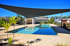 With the shade sail you could sit in here all day