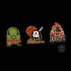 Suicide Squad Lapel Pin 3-Pack Set 3