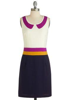 Dream in Colorblock Dress