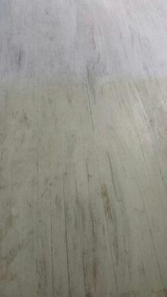 Whitewashed hardwood