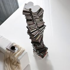 DNA bookshelf by #Cattelan