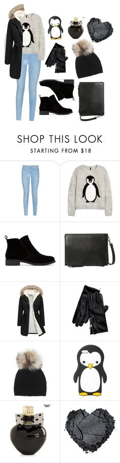 """""""penguin!"""" by omastova-k ❤ liked on Polyvore featuring 7 For All Mankind, H&M, Lucky Brand, MANGO, Tommy Hilfiger, Inverni, Aéropostale, women's clothing, women's fashion and women"""