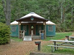 10 Awesome Oregon Coast Yurt Rentals For Less Than $60 | That Oregon Life