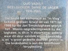 Quo Vadis beeld op het plein van het monument. Foto: G.J. Koppenaal - 9/10/2014.