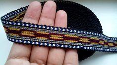 Usbekische handgewebte Baumwolle trim Jiyak.