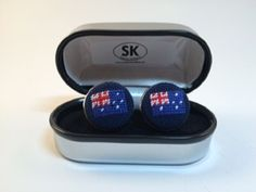 Groomsmen Cufflinks, Australian Flags, Warm Coat, Band Tees, Needlepoint, Silver Plate, Cool Things To Buy, Sunglasses Case, Essential Oils