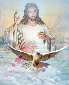 Jesus sent His Spirit to guide and teach us Miséricorde Divine, Divine Mercy, Jesus Christ Painting, Jesus Art, Benfica Wallpaper, Image Jesus, Jesus Second Coming, Pictures Of Jesus Christ, In Christ Alone