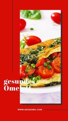 Ein Omelett zum Frühstück bedeutet eine perfekte Dosis Proteine und einen gesunden Start in den Tag. Um nicht in die Falle zu tappen und eine Kalorienbombe zuzubereiten, hat BesserMe einige Tipps für euch herausgesucht, die euch dabei behilflich sein werden, euer Lieblingsfrühstück auch gesund zu halten. Protein, Bruschetta, Tricks, Vegetables, Ethnic Recipes, Food, Meal, Health, Food Food