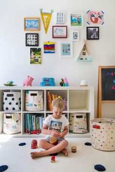 Stunning 40 Smart Kids Playroom Design Ideas That Your Kids Will Like It Playroom Table, Baby Playroom, Playroom Furniture, Playroom Decor, Baby Room, Playroom Ideas, Chalkboard Wall Playroom, Kids Wall Decor, Baby Decor