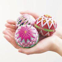 連続した幾何学模様《加賀手毬》残していきたい伝統工芸。