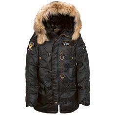Зимняя куртка N-3B 55th anniversary Alpha industries