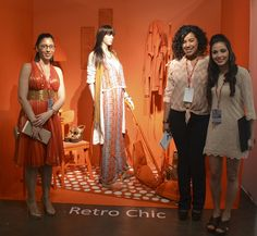 Retro Chic. Redefining Design 2015. Visual Merchandising Arts, School of Fashion at Seneca College.
