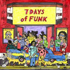 7 Days of Funk - 7 Days of Funk Snoopは手広くやってても完成度どれも高い気がします。 これなんかもそう。