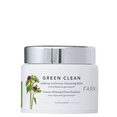 green clean $34    Echinacea Purpurea, GreenEnvy™ contains a high concentration of the phytochemical Cichoric Acid, a potent natural antioxidant that promotes an evenly toned complexion.    Sunflower Oil and Ginger Root Oil gently cleanse.    Extract of the Moringa tree helps to purify and refresh skin by removing impurities caused by pollution.    Papaya extract acts as a natural exfoliator to help renew the look of the skin's surface