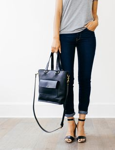 Eleanor Milled Black Leather Tote by GRACEGORDONLDN on Etsy