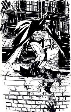 BENDIS! - herochan:   Batman et al  - illustrated byMichael...